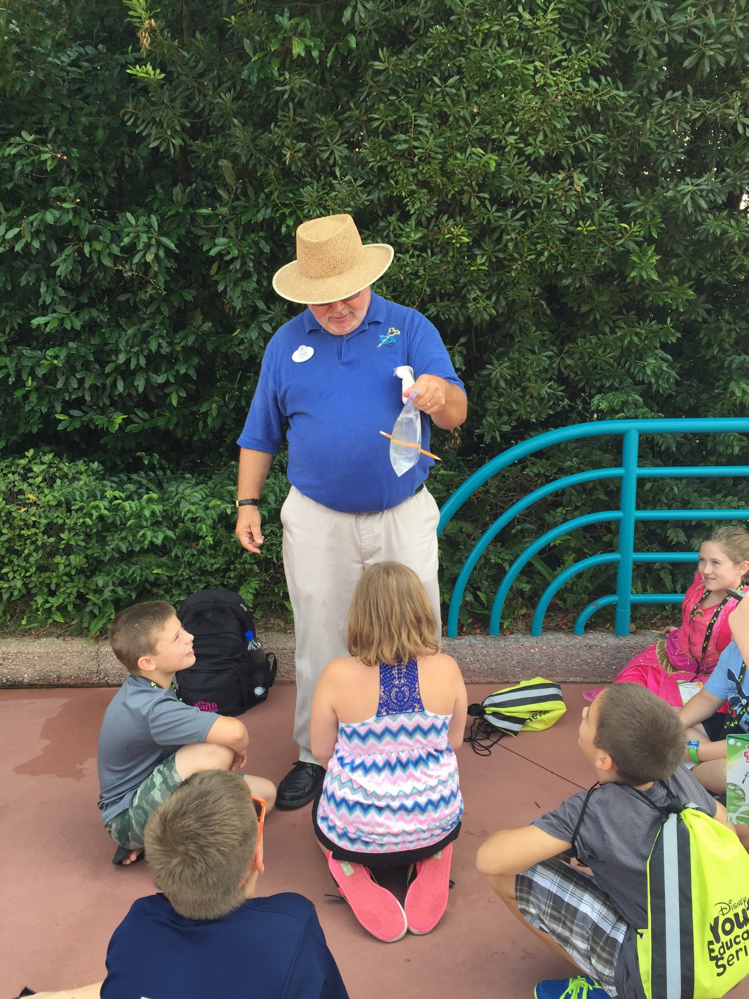 Learning at Disney World